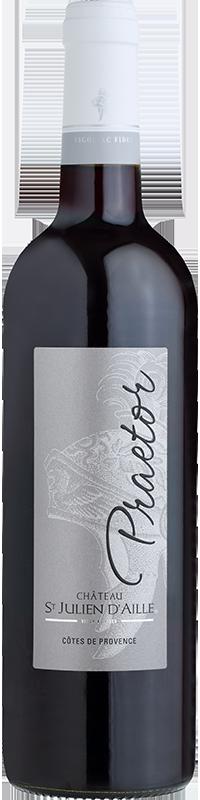Praetor vin rouge Saint Julien d'Aille