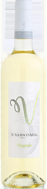 Viognier vin blanc Saint Julien d'Aille
